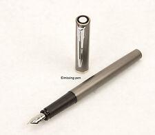 WATERMAN Fountain Pen Allure Silver-Grey / Silber-Grau with M - nib