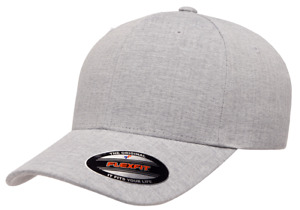 Flexfit® Heatherlight™ Lightweight Closed Back Stretch Fitted Ballcap 6350 Hat