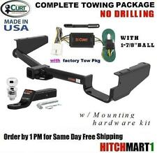 """FITS 2004-2007 TOYOTA HIGHLANDER w/ TOW PKG TRAILER HITCH PACKAGE w/ 1 7/8"""" BALL"""