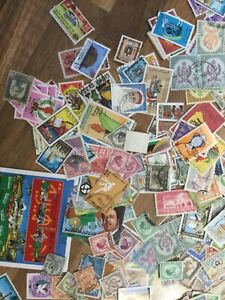 Libya stamps 300+ stamps off paper 1*LYB5