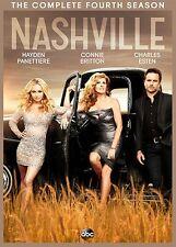 Nashville: The Complete Fourth Season (DVD, 2017, 5-Disc Set) Season 4
