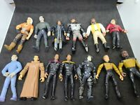 Lot of 13 Vintage 1990s Star Trek Action Figures Playmates Toys