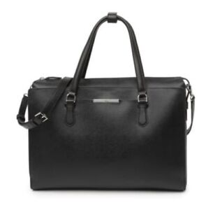 Tumi Black Business Laptop Crossbody Tote Bag 495$ msrp