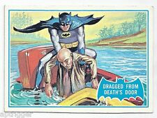 1966 Topps Batman Blue Bat with Bat Cowl Back (25B) Dragged From Death's Door