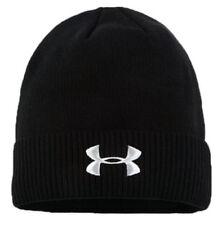 New! UNDER ARMOUR Adult Skull Cap Beanie Hat, Black, US Seller!