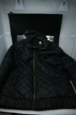 Men's G-Star Raw Vintage Black Quilted Hooded Jacket -  XL Size - (Rare)