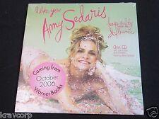 AMY SEDARIS—2006 PROMO CD SAMPLER—SEALED