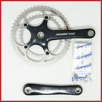 NOS CAMPAGNOLO RECORD CARBON CRANKSET 172,5mm 53/39T 10s SPEED FIBER SQUARE ISO
