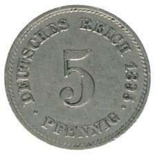 Deutsches Reich 5 Pfennig 1895 E A38507