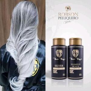 Hair Toner silver Robson Peluquero Home Care 2x300ml
