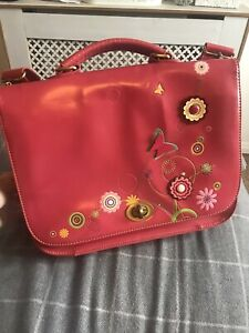 Vendula London Large Pink Handbag Floral Womens Bag