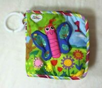 Lamaze Cloth Soft Counting Book Infant Plush Butterfly Crinkle Baby Toy