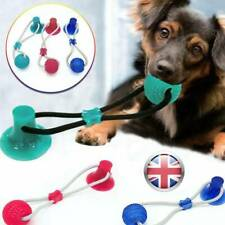 2019 100% ORIGINAL L1 Super Strong Floor Suction Tugger Cup Dog Toy with Ball UK