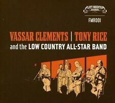 Vassar Clements/Tony Rice & The Low Country All-St - Clements/Ri (2006, CD NEUF)