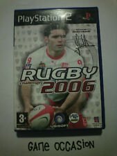 RUGBY CHALLENGE 2006 PS2 PLAYSTATION 2 SONY COMPLETO PAL