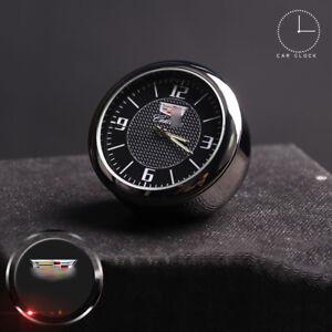 For Cadillac Car Clock Refit Interior Luminous Electronic Quartz Watch Ornaments