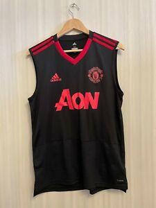 5+/5 Manchester United 2020 Size M Adidas training soccer shirt jersey football