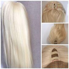 U part Wig Soft Blonde Straight Long hair 200g Side Centre Part Premium Quality