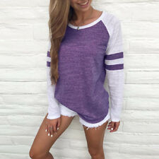Fashion Women Long Sleeve Casual Blouse Fall Tops Ladies Loose T-Shirt Pullover