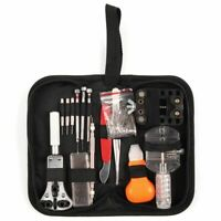 288Pcs Watch Repair Tool Kit Set Watchmaker Back Case Battery Cover Remover Open