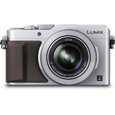 Panasonic LUMIX DMC-LX100 Digital Camera (Silver) Comes w/ External Flash ! NEW!