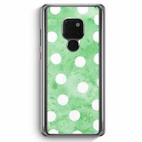 Grün Weiße Punkte Muster Huawei Mate 20 Hülle Motiv Design Mädchen Frauen Dam...