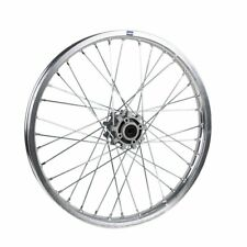 HMParts Pit Dirt Dirt Bike Cross  Alu Felge  Eloxiert 21 vorne XP 15mm Silber