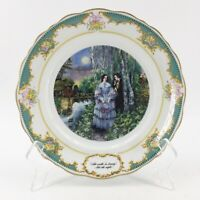 Franklin Porcelain The Poetry Society 1982 Lord Byron Collector Plate Victorian
