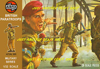 Airfix 1/32 Scale Brown Box British Paratroops Large Poster Advert Box Artwork