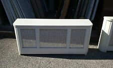 VINTAGE METAL RADIATOR COVER WITH  LID APPROX 51 x 23 x 11
