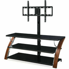 Whalen XL33E Payton 3-in-1 Flat Panel TV Stand - Brown Cherry
