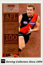 2012 Select AFL Champions Milestone Card MG17 Ricky Dyson (Essendon)