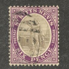 St. Kitts-Nevis Scott  #19a  used stamp