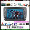 7''2 Din Android GPS Autoradio pour VW/Seat+Caméra BT iOS Lien Miroir Wifi EQ FM