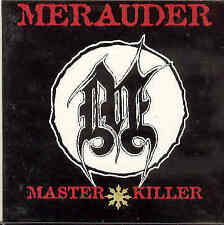 Merauder - Master Killer Rare Orig. 1995 Advance CD Cardcover Metal