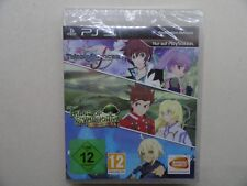 TALES OF SYMPHONIA CHRONICLES + TALES OF GRACES (PS3) NEU OVP***