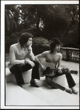THE ROLLING STONES POSTER PAGE . KEITH RICHARDS & CHARLIE WATTS NELLCOTE . R39