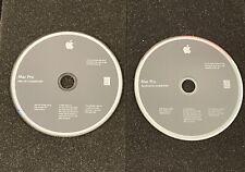 Original APPLE DVD ® Mac Pro 4.1 2009  DVD 10.5.6 + APPLE HARDWARE TEST GPU CPU