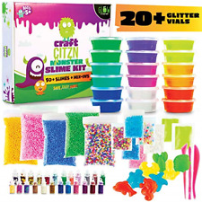 DIY Slime Making Kit - Perfect Arts and Crafts for Girls & Boys - Best Slime Kit
