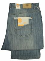 "Mens Big King Size KAM Jeans Straight Leg Stonewash Colour All Sizes 36"" to 60"""