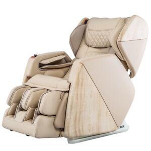 Osaki OS-Pro SOHO 4D S-Track Massage Chair Zero Gravity Space Saver Recliner BEI