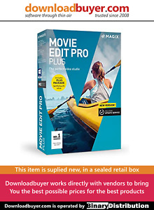 MAGIX Movie Edit Pro 2018 Plus - [Boxed]