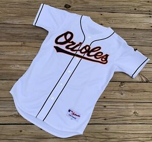 Majestic Authentic MLB Baltimore Orioles Stitched Baseball Jersey Size 44 Large