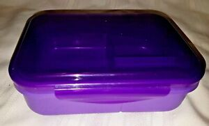Sistema Collection Bento Box Plastic Lunch Food Storage Container PURPLE