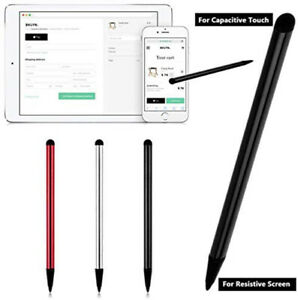 Touch Screen Pen Stylus Universal For iPhone iPad Samsung Tablet Phone PC 2 in 1