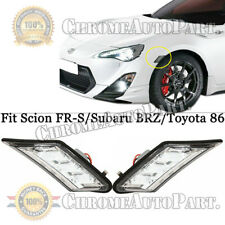 LED Smoked Lens Side Marker Blinker Lights For Scion FR-S Subaru BRZ Toyota 86