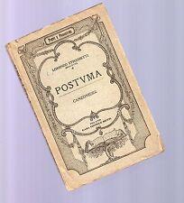 lorenzo stecchetti ( mercurio ) n-  postuma - 1889