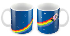 Nyan Cat Mug - Gift idea cool unique meme reddit birthday christmas coffee cup