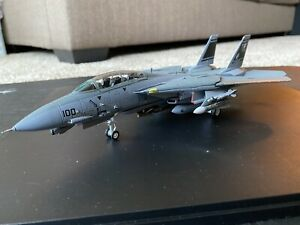 Century Wings F-14D Tomcat USN VF-31 Tomcatters 1/72 Used In Great Condition