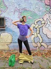 fit & fun Body Gymnastikanzug lila 80er TRUEVINTAGE 80s woman body aerobic lilac